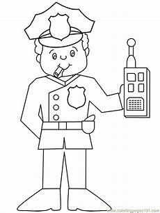 coloring pages police22 peoples gt free