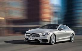 Download Wallpapers Mercedes Benz CLS 4k 2018 Cars Road