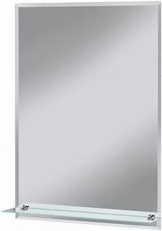welltime badspiegel 187 flex 171 50 x 70 cm mit glasablage und