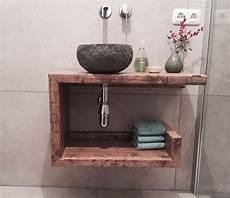 waschtisch gäste wc holz badezimmerm 246 bel badschr 228 nke waschtisch g 228 ste wc