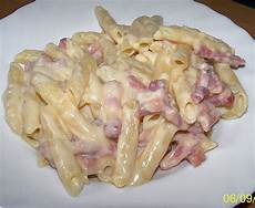 nudeln mit käse schinken k 228 se nudeln rezept mit bild sweety666
