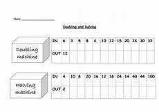 doubling and halving by nickybo teaching resources tes