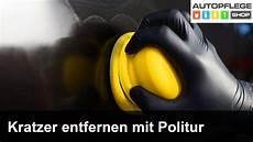 kratzer entfernen am auto mit politur