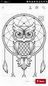 Pin By Mobinafallaj84 On Mandaly  Owl Coloring Pages