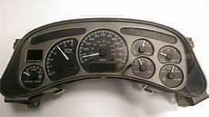 motor repair manual 2003 gmc safari instrument cluster 2004 gmc yukon gauge cluster ebay autos post 2003 2004 2005 2006 gmc sierra yukon denali