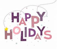 words background happy holidays text words and merry christmas holiday greetings with