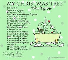 piddly poems my tree won t grow