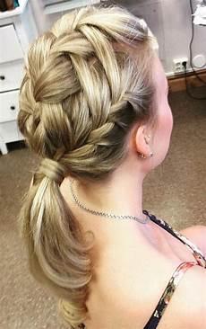 20 fabulous easy braid ponytail hairstyles to diy