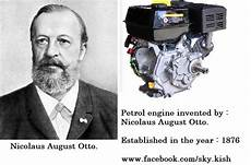 petrol engine invented by nicolaus august otto year