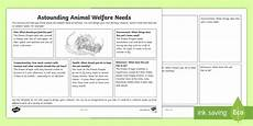 animal rights worksheets 14022 astounding animal welfare needs activity animal welfare month pet care
