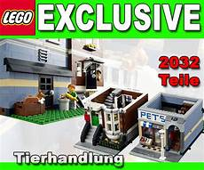 lego exclusive 10218 zoohandlung tiergesch 228 ft pets shop ebay