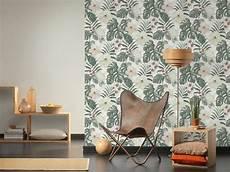 Michalsky Tapete Vlies Einfarbig Textil Creme 36517 5