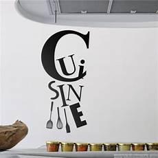 stickers ecriture pour cuisine sticker cuisine et les ustensiles stickers citation