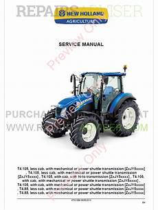 new holland t4 85 t4 95 t4 105 tractor service manual download