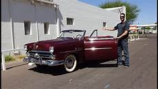 ford by my car ride in a 1952 ford crestline sunliner convertible why not on my car story with lou costabile