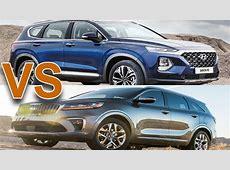 2020 Kia Sorento Vs 2020 Hyundai Santa Fe Sport   Greene CSB