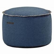 sitzhocker rund sackit sitzhocker rund retroit medley drum 66010 denim