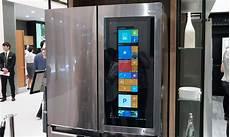 frigo a lg s prototype fridge sports a semi transparent