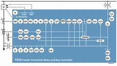 f 650 relay diagram f650 bay controller