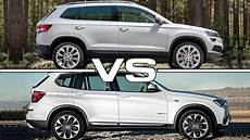 2018 skoda karoq vs 2016 bmw x3