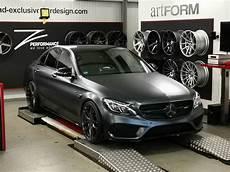 440 Ps Mercedes C43 Amg M D Auf Zp2 1 Felgen