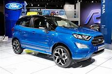 2018 Ford Ecosport Tries To Look Cool With St Line Package