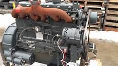 White D298er 6 Cylinder Diesel Engine Test Run 2