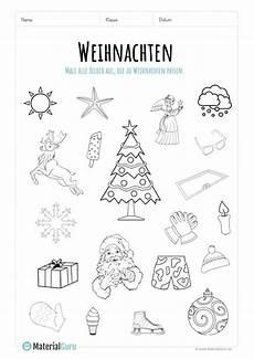 ein kostenloses arbeitsblatt zu weihnachten auf dem die