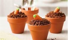 sanella kuchen schoko muffins im blumentopf kuchen und co