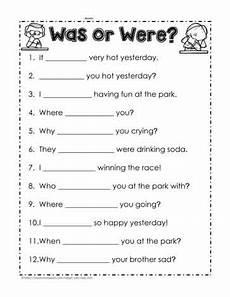 was were worksheet 1 worksheets