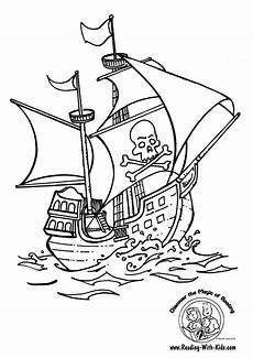 pirate coloring pages to and print for free