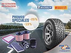 Promo Sur Les Pneus Promo Fix N Go Sur Les Pneus Michelin Pirelli Et Les Huiles