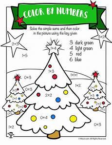 christmas tree math addition worksheet woo jr kids activities