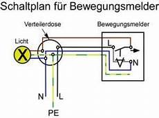 anleitung schaltplan f 252 r bewegungsmelder wechselschaltung