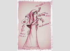 Veiling and Modest Dressing   Islamic cartoon, Islam women