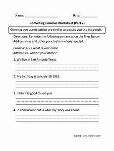 10 best english commas worksheets images pinterest worksheets frases and grammar