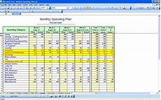 personal budgeting spreadsheet template exle of