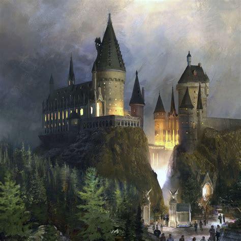 Hogwarts Castle Layout