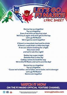 Pj Mask Malvorlagen Quotes Let S Go Pj Masks Song Pj Masks Wiki Fandom Powered
