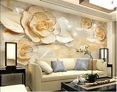 Flower Wallpaper In Bedroom by 3d Wallpaper Bedroom Mural Roll Modern Luxury Flower