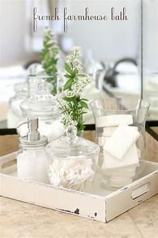 farmhouse bath decor bathroom counter decor