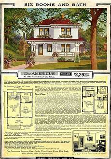 sears craftsman house plans americus sears roebuck house plan house plans vintage
