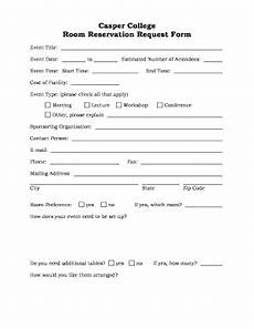 room reservation form fill out and sign printable pdf template signnow