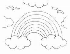 Ausmalbild Regenbogen Fee Rainbow Drawing At Getdrawings Free