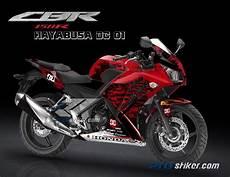 Variasi Motor Cbr 150r by Jual Merah Decal Variasi Cbr 150r K45 Desain Huruf