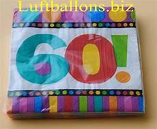 servietten zum 60 geburtstag papierservietten