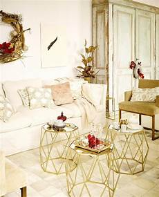 White And Gold Home Decor Ideas by Gold D 233 Cor Ideas For A Stylish Home For The Holidays