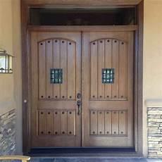 21 great exle of rustic double front door designs interior design inspirations