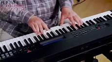 kraft yamaha cp40 stage piano demo with adam
