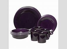 Fiesta® 16 Piece Dinnerware Set in Plum   Bed Bath & Beyond